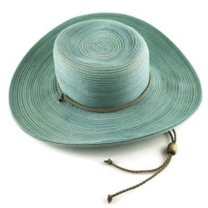 San Diego Hat Company Mint Sun Hat with Chin Cord
